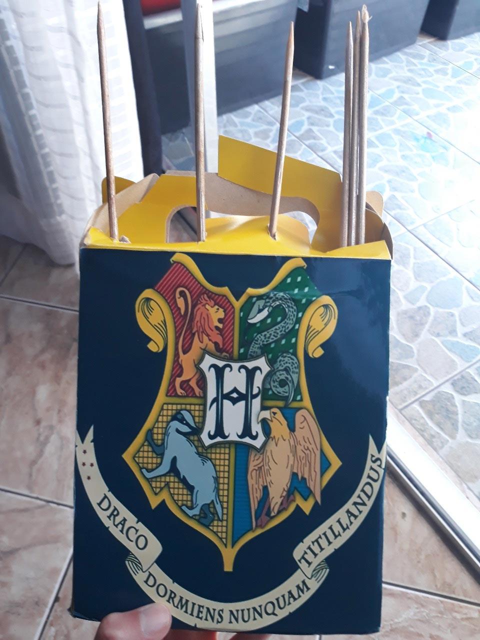 Jogo do Harry Potter por Rhayssa Dandara